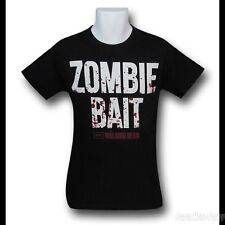The Walking Dead ZOMBIE BAIT Mens T shirt. New and official clothing.