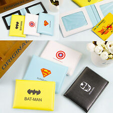Comic Pouch ID Credit Card Wallet License Holder Organizer Case Box Pocket