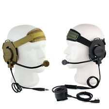 Z Tactical Bowman Elite II Headset w/ Waterproof PTT for Kenwood 2 Pin Radio Hot