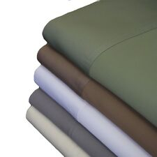 4pc Abripedic 600 Thread Count Bamboo Viscose Sheet Set - ALL SIZES