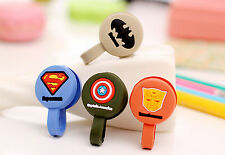 Comic Earphone Cable Winder Headphone Cord Tidy Silicone Rubber