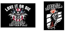 AVENGED SEVENFOLD A7X - LOVE IT OR DIE / ROSEHAND OFFICIAL TEXTILE POSTER FLAG