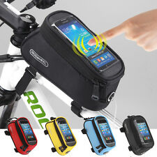 NEW MOBILE PHONE CASE BAG POUCH CYCLING BIKE BICYCLE FRAME IPHONE HOLDER PANNIER