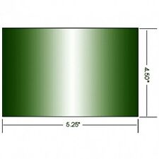 AlloWeld Welding Lens -Green- Large 4.5 x 5.25 Shades 4-14