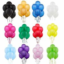 12 INCH PEARLISE LATEX HELIUM OR AIR QUALITY BALLOONS FOR PARTY WEDDING BIRTHDAY