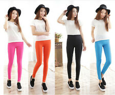 New Girl High Waist Skinny Stretch Slim Pencil Pants Trousers Leggings Jeggings