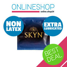 SKYN EXTRA LUBRICATED NON LATEX CONDOMS Polyisoprene Lifestyles Mates 1 - 144pcs