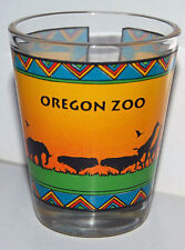 Oregon Zoo Shot Glass