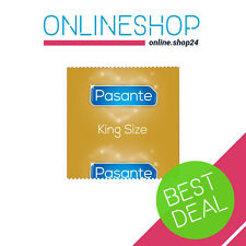 PASANTE KING SIZE CONDOMS LARGE XL XXL FOR BIG BOYS 1 - 100 pcs ORIGINAL