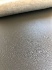 CHARCOAL GREY EMBOSSED VINYL FOR MARINE AUTOMOTIVE & COMMERCIAL UPHOLSTERY