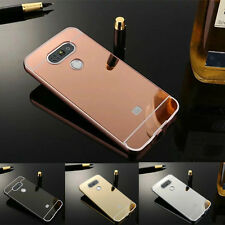 NEW Luxury Aluminum Ultra-thin Mirror Metal Hard Back Case Cover for LG G5