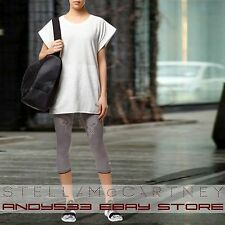 $120 adidas Stella McCartney Womens Seamless Three-Quarter Tights 3/4 Capri XS S