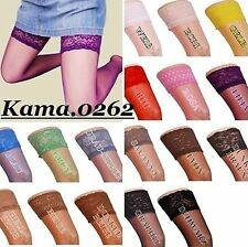 LYCRA HOLD - UPS SIZE S/M 36-38 with Shiny LACE BAND WIDE COLORS