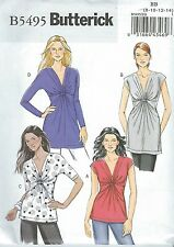 Butterick 5495 Misses' Tops   Sewing Pattern