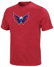 Washington Capitals NHL Mens Majestic Big Time Play Shirt Red Big & Tall Sizes