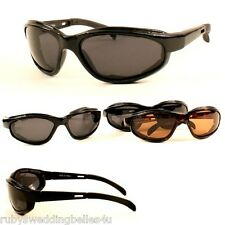 GREAT POLARISED SPORTS SUNGLASSES / SPEED GOGGLES  - CHOOSE COLOUR