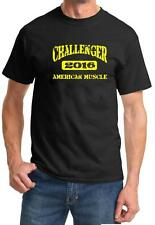 2016 Dodge Challenger American Muscle Car Color Design Tshirt NEW Free Ship