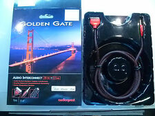 AUDIOQUEST  GOLDEN  GATE  30 PIN TO  3.5MM  INTERCONNECT - 1  METRE