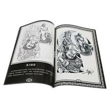 Tattoo Sketch Reference Book Instruction Sheet Flash Body Art Design China Style