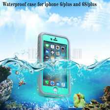 For Apple Iphone 6S Plus Waterproof Shockproof Cover Dirt Dust Proof Rubber Case