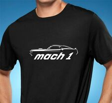 1969 Ford Mustang Mach 1 Muscle Car Tshirt NEW FREE SHIPPING