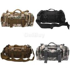 Outdoor Military Tactical Waist Pack Shoulder Sling Messenger Backpack Tote Bag