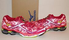 MIZUNO Wave Creation 15 Women's Running Shoes Cerise/Lime Punch/Coral NIB sz 6.5