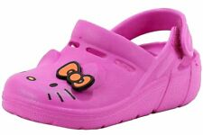 Hello Kitty Toddler Girl's HK Lil Cori Fashion Sandals Pink Clog Shoes