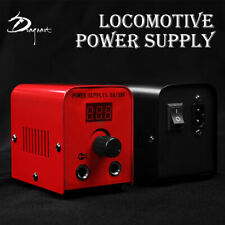 LCD Digital Tattoo Power Supply Kit w/ Clip Cord & Flat Foot Pedal 99-1010-01,06