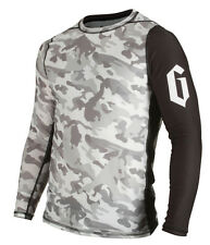 Gameness Camo Long Sleeve Rash Guard BJJ Jiu-Jitsu MMA No-Gi RashGuard