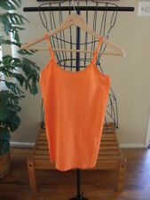 SEXY SPAGHETTI STRAP LOW CLEAVAGE TANK TOP SEAMLESS ONE SIZE U PICK COLOR NWT