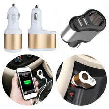 3.1A 3in1 Dual USB Ports One Way Car Cigarette Lighter Socket Charger Adapter