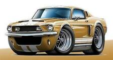 1968 Shelby GT350 Mustang Muscle Car Art Print NEW