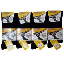 Size 6-11 Mens Quality Stay Up Diabetic Socks 6 Pair £10.99