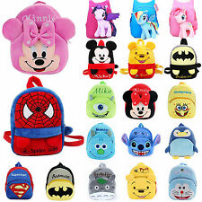 Kids Boys Girls Cartoon Animal Schoolbag Backpack Shoulder Rucksack Book Bags