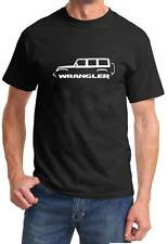 Jeep Wrangler 4 Door 4x4 Classic Design Tshirt FREE SHIPPING