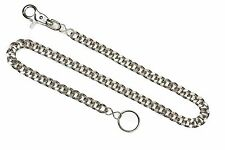 Diamond Cut Key Chain Or Bikers Wallet Chain Punk Rock Style With trigger Clasp