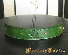 Medieval Celtic Leather Cuff Bracelet