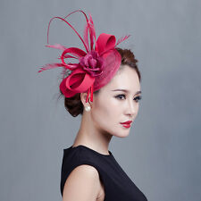 Sinamay Fascinator Hairpin Hat Kentucky wedding Church Hair Clip Derby Dress