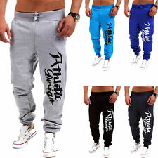 Mens Hiphop Casual Trousers Sweat Pants Jogging Joggers Tracksuit Sport Bottoms