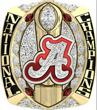 2015 Alabama Crimson Tide NCAA National Championship Rings SABAN