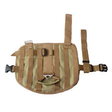 Service Dog Harness Training Tactical Dog Harness Molle label Compact Dog Vest