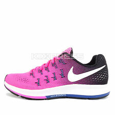 WMNS Nike Air Zoom Pegasus 33 [831356-600] Running Pink Blast/White-Black-Purple