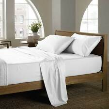 Veer Hotel 600 & 1000TC White Bedding Colleciton 100%Egyptian Cotton All Size