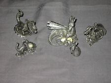 Pewter Dragons Crystal Wings Egg Mythical Character Animal NEW!