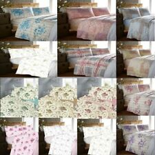100% Cotton Flannelette Printed Bed Sheets Set SINGLE,DOUBLE,KING