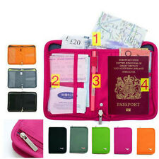 New Travel Wallet Organizer Passport Credit Card Holder Cash Purse Case Bag g02