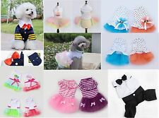 New Fashion Various Pet Clothing Coat Puppy Small Dog Cat Cosplay Dress Apparel