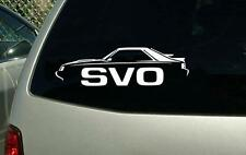 1984 1985 1986 Ford Mustang SVO Vinyl Cut Sticker Decal NEW FREE SHIPPING