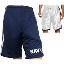 Reversible Soffe US NAVY decal Blue/White Knee Lenght Shorts, Pants, Basketball